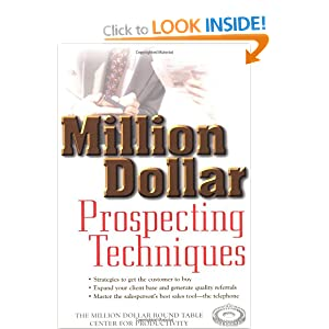 Million dollar prospecting techniques wiley mdrt for Apple 300 dollar book