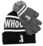 Disney's Frozen Olaf Whoo Headrush! Beanie and Gloves Hatset