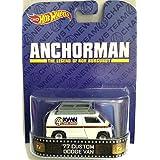 """77 Custom Dodge Van """"ANCHORMAN"""" Hot Wheels 2014 Retro Series 1/64 Die Cast Vehicle"""