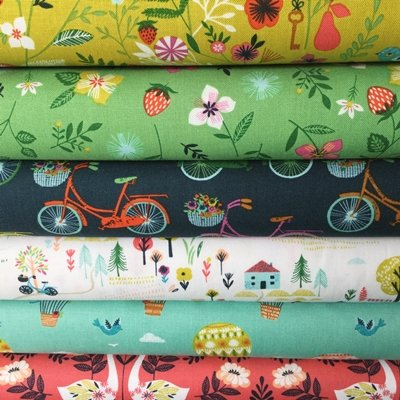 countryside-fabric-windmills-bikes-floral-bundle-dashfb32-6-fat-quarters-100-cotton