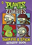 Plants vs. Zombies: Shuffle & Stick Activity Book