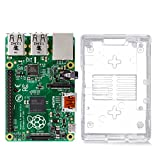 Raspberry Pi Model B+ (B Plus) With Clear Case