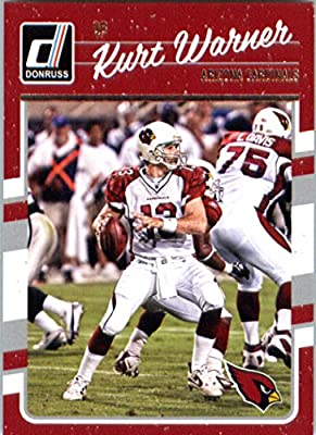 2016 Donruss #9 Kurt Warner Arizona Cardinals Football Card-MINT