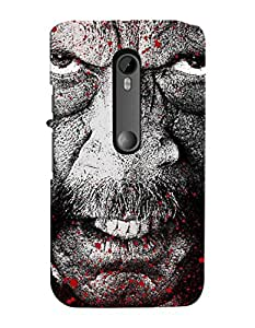 FurnishFantasy Designer Back Case Cover for Motorola Moto G (3rd gen)