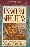 img - for Unnatural Affection book / textbook / text book
