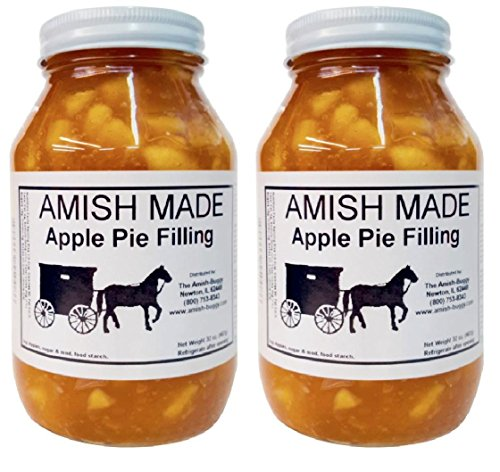 Amish Pie Filling Apple - 2 Jars- 32 Oz (Cherry And Apple Pie compare prices)