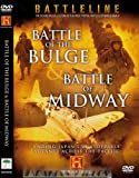 HISTORY CHANNEL - BATTLELINE - BATTLE OF THE BULGE & BATTLE OF MIDWAY - DOCUMENTARY - DVD