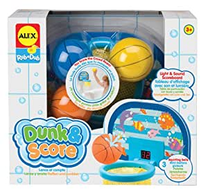 Alex toys bath time fun dunk and score toys for Alex co amazon