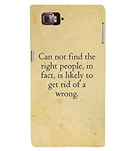 Nice Quote Cute Fashion 3D Hard Polycarbonate Designer Back Case Cover for Lenovo Vibe Z2 Pro :: Lenovo K920 :: Lenovo Vibe Z2 Pro K920