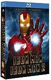 echange, troc Iron Man + Iron Man 2 - Coffret 2 Blu-ray + 2 Blu-ray bonus + 1 DVD + 1 copie digitale [Blu-ray]
