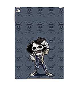 EPICCASE Freeky Skeleton Mobile Back Case Cover For Apple Ipad Air 2 (Designer Case)
