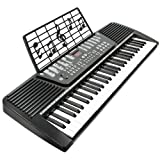 Hamzer 61 Key Electronic Music Piano Keyboard - Black