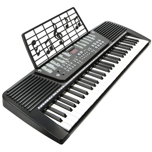 Sale!! Hamzer 61 Key Electronic Music Piano Keyboard - Black