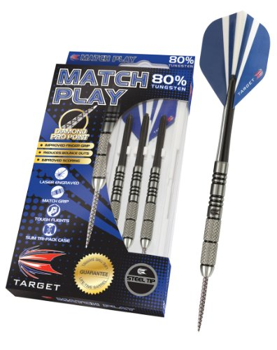 Find Cheap Target Match Play Natural Tungsten Steel Tip Darts