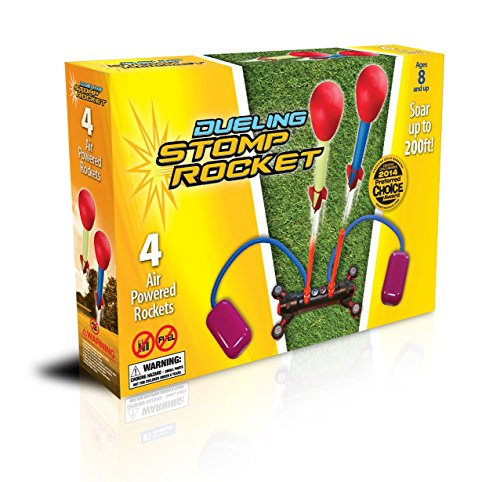 The Original Stomp Rocket: Dueling 4-Rocket Kit