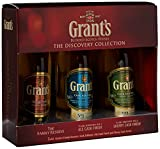 Grants Triple Pack Grants Family Reserve/ Sherry Cask and Ale Cask Whisky 5 cl (Pack of 3)