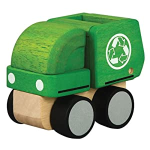 PlanPreschool Mini Garbage Truck by PlanToys