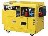 Rotek Diesel Stromerzeuger mit Notstart-Automatik GD4SS-3-6000-EBZ-ATS