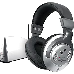 Sentry Wireless Headphones Black Clam Pack - Sentry HO800