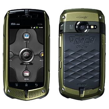 新品 G\\\'Z One IS11CA カーキ 携帯電話 白ロム au