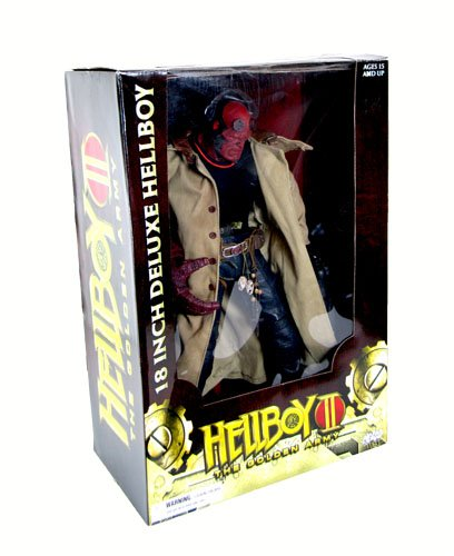 Buy Low Price Mezco Hellboy 2: The Golden Army 18″ Figure – Closed Mouth (B001TLCYXA)