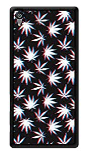 "Humor Gang Grass Trippy Pattern Printed Designer Mobile Back Cover For ""Sony Xperia Z5"" (3D, Glossy, Premium Quality Snap On Case)"