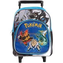 Mochila de Pokémon con asas y ruedas