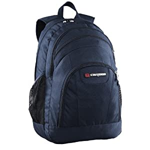 Rhine 40 litre large school bag / backpack (navy)