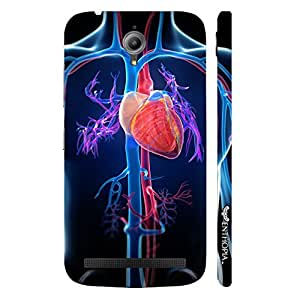 Enthopia Designer Hardshell Case The Cardio Way Back Cover for Asus Zenfone Go