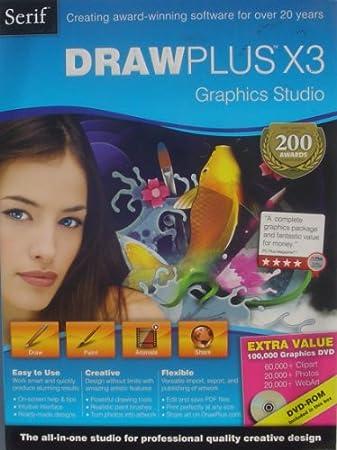Serif Drawplus X3 Graphics Studio (Mini Box Retail) - 1 User