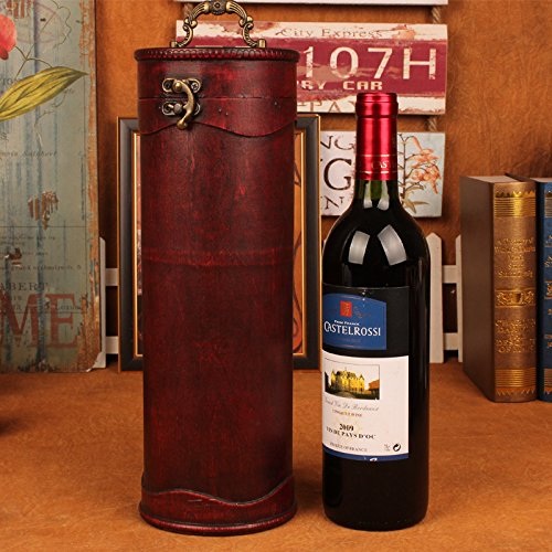 YZL/ Antique wine package. retro wood packaging wine. wine boxes. cylinder wine box
