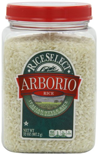 RiceSelect Arborio Rice, 32-Ounce Jars (Pack of 4)