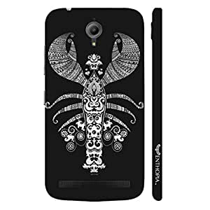 Asus Zenfone Go SCORPIAN ART designer mobile hard shell case by Enthopia