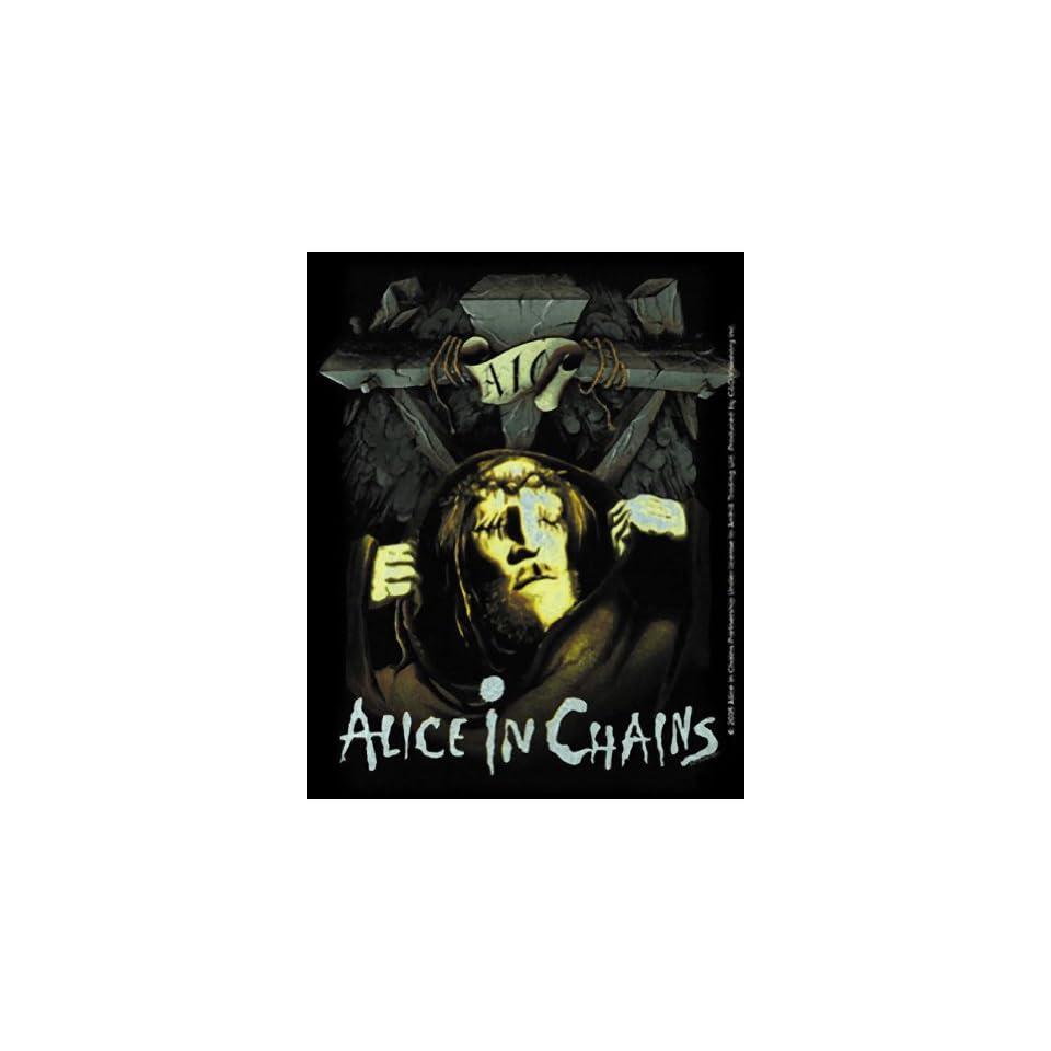 Alice in Chains Cross Sticker S 4553