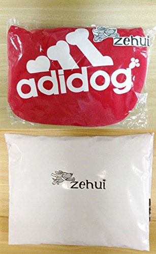 Zehui Pet Dog Cat Sweater Puppy T Shirt Warm Hoodies Coat Clothes Apparel Red M