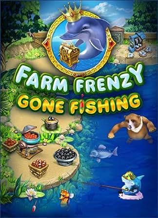 Farm frenzy gone fishing download video games for Fish farm games