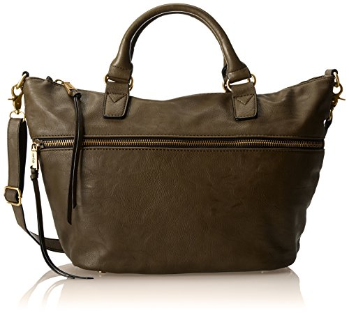 Co-Lab by Christopher Kon She-she Top Handle Bag,Dark Grey,One Size