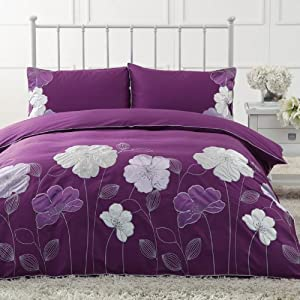 king bedding sets purple 2bXDPO6N