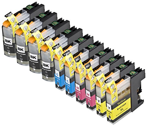 10 Pack Compatible LC101 , LC103 4 Black, 2 Cyan, 2 Magenta, 2 Yellow for use with Brother DCP-J152W, MFC-J245, MFC-J285DW, MFC-J4310DW, MFC-J4410DW, MFC-J450DW, MFC-J4510DW, MFC-J4610DW, MFC-J470DW, MFC-J4710DW, MFC-J475DW, MFC-J650DW, MFC-J6520DW, MFC-J6720DW, MFC-J6920DW, MFC-J870DW, MFC-J875DW. Ink Cartridges for inkjet printers. LC101BK , LC101C , LC101M , LC101Y , LC103BK , LC103C , LC103M , LC103Y © Blake Printing Supply (Brother Lc103bk Xl compare prices)