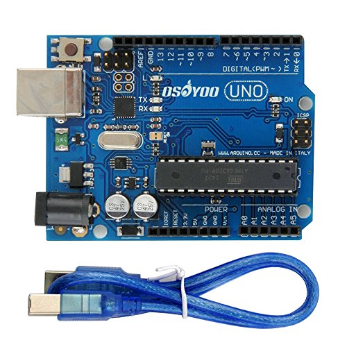 Gowoops UNO R3 ATmega328P Development Board for Arduino, Free USB Cable (Robot Microcontroller compare prices)