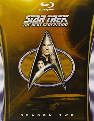 Blu-ray : Star Trek: The Next Generation - Season 2 (Boxed Set, , Digital Theater System, Dubbed, 5 Disc)