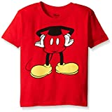 Disney Little Boys' Toddler Mickey Headless Group T-Shirt Toddler, Red, 3T