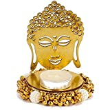 Giftacrossindia Exclusive Shadow Diya Tealight Candle Holder Of Removable Buddha For Diwali Home Decor Gift Collection