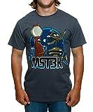 Unisex-Adult Exclusive Mst3k Mystery Science Theater 3000 Tom Servo N Crow T-Shirt - Medium