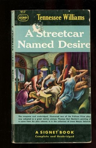 the symbols in the novel a streetcar named desire by tennessee williams