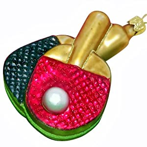 Ornaments to Remember: TABLE TENNIS Christmas Ornament