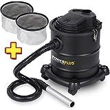 Aschesauger 1200 Watt 20 Liter POWX308 + 2 x Filter POWX305B