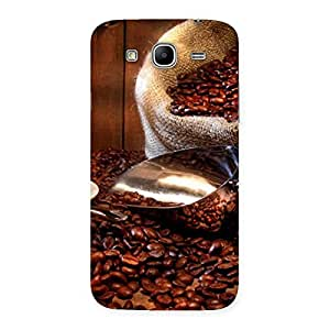 Gorgeous Coffee Beans Brown Back Case Cover for Galaxy Mega 5.8