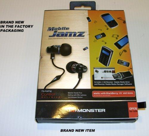 Mobile Jamz High Performance Music Phone Headphones Model#Mh Jmzm Ie Ct Kit Upc# 050644568176
