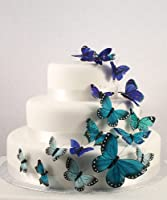Weddingstar Beautiful Butterfly Cake Sets - Something Blue - Lesbian Wedding Cake Decorations